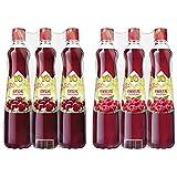 Yo Sirup Kirsche, 6er Pack, PET (6 x 700 ml) & Himbeere, 6er Pack, PET (6 x 700ml)