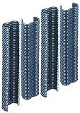 GAH-Alberts 531010 Drahtklammer | zinkphosphatiert, anthrazit kunststoffbeschichtet | Breite 22 mm | 200er Set