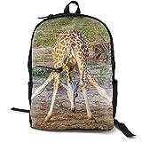 A Giraffe Giraffa in einem Reiserucksack, Wanderrucksack, wasserabweisend, multifunktionaler Trekking-Rucksack