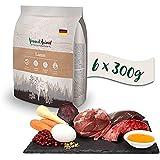 Venandi Animal Premium Trockenfutter für Katzen, Lamm 6 x 0.3 kg, getreidefrei mit viel frischem Fleisch, 1.8 kg