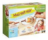Heitmann Eierfarben 60067 - Eier - Malmaschine, inklusive Malpalette mit 6 Eierfarben und Pinsel