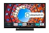 Toshiba 24WK3C63DA 24 Zoll Fernseher (HD ready, Smart TV, Prime Video / Netflix, Alexa Built-In, Bluetooth, WLAN, Triple Tuner), schwarz