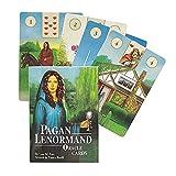 M STAR Pagan Lenormand Oracle Cards Deck Geizination Kartenspiel, Geeignet Für Party Board Spiele