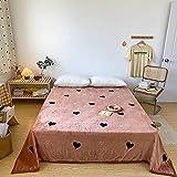 Dicke Flanelldecke, Geeignet Für Die Beindecke des Studentenwohnheims, Die Schlafdecke des Hauptschlafzimmers