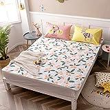 LXSHMF Futon Klappmatratze Tatami Mat Japanisch Faltbare Gast Bett Schlafen Mat Boden Matratze Pad Für Wohnzimmer Schlafzimmer-16 150x200cm
