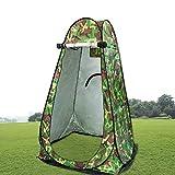 Outdoor-Duschen, Fesjoy Pop-Up-Zelt Umkleidekabine Sofort faltbares Zelt mit Tragetasche Outdoor-Privatsphäre Dusche Baden Fitting Ankleidezimmer für Strandcamping