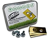 30x Titan Ersatzmesser Klingen Messer kompatibel mit Einhell, Grizzl, Landxcap, Mowox, Mr. Gardena, Worx Landroid, Kress-Zubehör Ersatzkling
