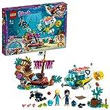Lego 41378 Friends Rettungs-U-Boot für Delfine, Spielset mit Spielzeug-U-Boot, Schiffswrack und 2 Spielzeug-Delfinen, Tierrettungsset