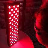NUB Infrarotlampe Rotlicht-Therapielampe Zur Licht Von Hautschmerzen Gesicht Körper Infrarot Physiotherapielampe Rot 660Nm Nahinfrarot 850Nm Lampe Lichttherapie-Lamp