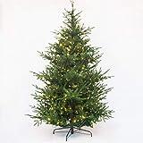 Topashe Christbaum Tanne Weihnachtsdeko,Luxus Weihnachtsdekoration Baum, PE Simulationsbaum-Keine Lichter_1.5m,PE Weihnachtsbaum Künstlich Tannenb