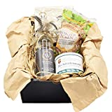 Winkelwerk Genussmanufaktur Vesperkorb mit schwäbischen Spezialitäten | regionale Delikatessen im Geschenkset für Feinschmecker | ideale Geschenkidee für Männer | Präsentkorb | Gourmetbox