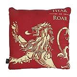 Game of Thrones - Kissen - Lannister - Haus Wappen Logo - 46 x 46 cm - beidseitig Bedruck