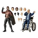 Hasbro Marvel Legends Series X-Men Magneto und Professor X 15 cm große Action-Figuren, ab 14 Jahren
