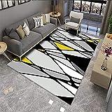 VOVTT Home Designer Teppich Modern Trendig Meliert Steinoptik Mauer Muster Wohnzimmer,50x80