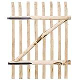 Serviceklappe einfach Zaun-Holz Corylus 100x 150cm