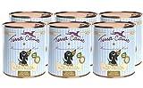 Terra Canis Welpen Nassfutter I Reichhaltiges Premium Hundefutter in echter Lebensmittelqualität mit Huhn, Kürbis, Blütenpollen & Kamille I 6 x 800g, allergenarm, getreidefrei & g