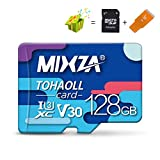 LuckyOne MIXZA BF Speicherkarte 256GB U3 80MB/S Class10 128GB 64GB 32GB U1 Micro SD Karte UHS-1 Flash Card Memory MicroSD TF/SD Karten