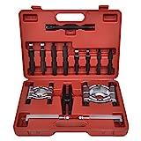 LARS360 Universal 14-TLG Lagerabzieher Bearing Separator Set Polradabzieher Trennmesser Werkzeug Satz Lager Ab