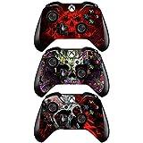 FOTTCZ Vinyl-Aufkleber für Xbox One Controller, 3 Stück, Mix Style A, 3 Stück