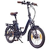 "NCM Paris+ 20"" E-Bike, E-Faltrad, 36V 19Ah 684Wh Dunkel Blau"