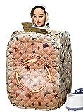 joyvio Steaming Box Dampfsauna Tent Sauna Steamer, Leichte, Tragbare Falten Saunakabine Sauna Generator Für Weight Loss Detox-Therapie
