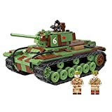Xzbnwuviei Custom Set of World War II Army Panzer Blockspielzeug für Kinder ab 6 Jahren