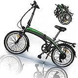 E-Bike, Professionelles 7-Gang-Getriebe,,3 Fahrmodi Ausdauer 50-55 km,25 km/h, Ebike mit 36V 7.5AH 250W Bürstenlosen Motor, Elektroroller Elektrofahrrad,
