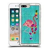 Head Case Designs Offiziell Zugelassen Suzan Lind Flamingo Voegel Soft Gel Handyhülle Hülle Huelle kompatibel mit Apple iPhone 7 Plus/iPhone 8 Plus