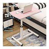ABD Beistelltisch mit Rädern, höhenverstellbar, mobiler Laptop-Ständer, Rollwagen, höhenverstellbar (Farbe: Style5)