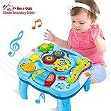 ACTRINIC Spieltisch mit Musik, ab 18 Monaten, frühkindliche Bildung, Musik-Aktivitätszentrum