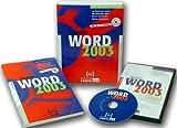 Word 2003 Basis, CD-ROM und Buch m. CD-ROMAn Beispielen lernen. Mit Aufgaben üben. Durch Testfragen Wissen überprüfen