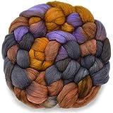 Double Dip – Bunte Kunstwolle zum Spinnen und Filzen Gekonnt von Hand gefärbt in den USA Farben inspiriert von der Schönheit der Naturlandschaften, Yellowstone