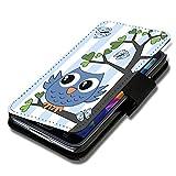 Book Style Flip Handy Tasche Case Schutz Hülle Schale Motiv Etui für Nokia Lumia 630 - A35 Design6