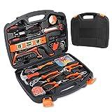 106-Teiliges Werkzeugkoffer, Smalibal Premium Universal Werkzeugkasten, Haushalts-Werzeug Set mit eine Vielzahl von Werkzeugen für leichte Heimarbeiten und Reparaturen