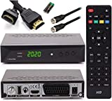 [ Test GUT *] Anadol HD 222 Pro + Satkabel + HDMI Kabel - PVR Aufnahmefunktion Timeshift, - UNICABLE - Digital HDTV Sat-Receiver für Satelliten - Astra & Hotbird installiert - HDMI SCART DVB-S/S2