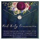 Grace of Pearl Geschenk zur Erstkommunion für Mädchen und F