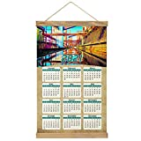 Deutschland Zeche Zollverein Essen Wandkalender Wand Kalender 2021 12 Monate Leinwand Holz 20,4 'x 13,1' GL-Germany-2607