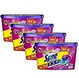 Spee Power Caps Color 3+1, Colorwaschmittel, 64 (4 x 16) Waschladungen, Reinheit, Strahlkraft und Frische für deine Buntwäsche zum schlauen Preis, 20-60°