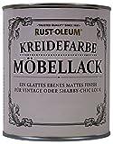 Rust Oleum Möbellack Kreidefarbe Antik Weiss Matt 750