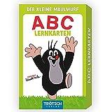 Trötsch Der kleine Maulwurf Kartenset ABC Lernkarten: Übungskarten Lernspiel Vorschule Grundschule