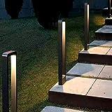 TDYWO LED Außenstandleuchte wegeleuchten außen led, LED Wegeleuchten Außen 10W LED Gartenlampe, IP65 Wasserdicht für den Außenbereich (800MM)
