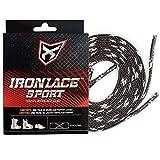 Ironlace Sport Lace, Sport Lace Black & Tusk 108', Schwarz/Tusk, 108