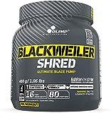 Olimp Blackweiler Shred, Exotic Orange, 480 g, Pre Workout Booster und Fettverbrenner, L-Arginin und Beta-Alanin