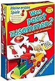 Ravensburger 21402 - Was passt zusammen? - Puzzelspiel für Kinder, Bildpaare zuordnen für 1-4 Spieler ab 2 Jahren