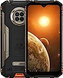 DOOGEE S96 Pro (Offiziell) Outdoor Handy im Freien 20MP AI Nachtsicht Smartphone Ohne Vertrag Helio G90 87,7MP UHD-Foto 8GB+128GB 6350mAh Gyroskop NFC IP68/IP69K 2021 Robustes Handy (Orange)