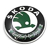 Skoda 3U0853621B MEL Zeichen Emblem Logo Frontklappe Plakette