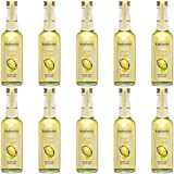 Fruchtwerker | Zitrone & Essig | Mit Saft aus echten Früchten | 10er Pack | 10x 250ml Glasflasche