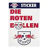 RB Leipzig Mix Sticker Set, Weiß Unisex One Size Aufkleber, RasenBallsport Leipzig Sponsored by Red Bull Original Bekleidung & M