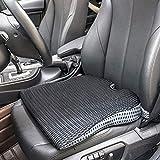 YJWAN Autositz-Keilkissen für Autofahrer, Bürostuhl, Rollstühle, Steißbeinstütze, Schmerzlinderung, Memory-Schaum-Sitzkissen