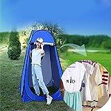 XYZLEO Pop-up Toilettenzelt Umkleidezelt, Tragbar Tragbar Camping Dusche Zelt, Mobile Umkleidekabine Lagerzelt 47.2 * 47.2 * 74.8 in